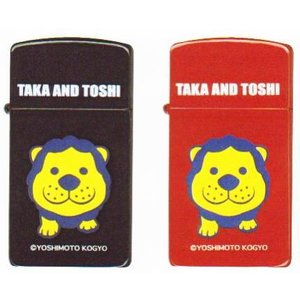 【送料無料】吉本興業公認 タカ&トシ TAKA&TOSHI ZIPPO スリムサイズ|mysen