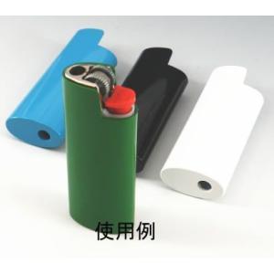 【BIC アルミライターケース】デコ用 ビック J25ミニBICライター1個を使用します。|mysen