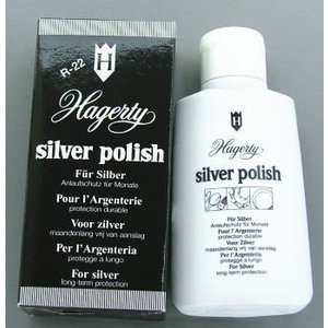 【Hagerty Japan】銀製品専用 ハガティ シルバー ポリッシュ100ml (さび止め効果)|mysen