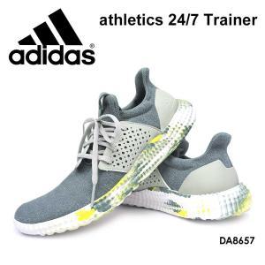 アディダス メンズ アスレチックス 24/7 トレーナー トレーニングシューズ|myskip-sp