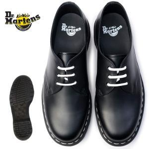 ドクターマーチン 靴 1461 ホワイトウェルト 正規品 3ホール 白ステッチ 1461Z ラウンドトゥ 24757001|myskip-sp
