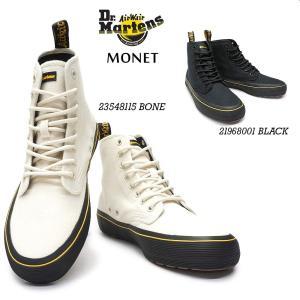 ドクターマーチン MONET モネ レディース 8ホール キャンバス ブーツ スニーカー myskip-sp