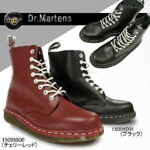 ドクターマーチン  8ホールブーツ パスカル フラットソール スチールなし  メンズ ブーツ マーチンブーツ 15096001 15095600|myskip-sp