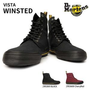 ドクターマーチン スニーカー ハイカット ブーツ ウィンステッド キャンバス メンズ レディース 21953001 21953600|myskip-sp