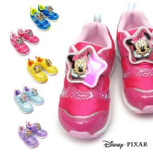 ディズニー 子供靴 DN C1226 MIX 光る靴 スニーカー マジック式 ディズニー映画 プリンセス トイストーリー|myskip-sp