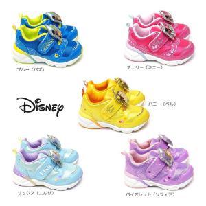ディズニー 子供靴 DN C1226 MIX 光る靴 スニーカー マジック式 ディズニー映画 プリンセス トイストーリー|myskip-sp|02