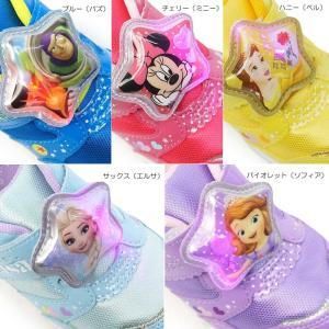 ディズニー 子供靴 DN C1226 MIX 光る靴 スニーカー マジック式 ディズニー映画 プリンセス トイストーリー|myskip-sp|07