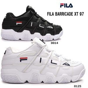 フィラ FILA スニーカー メンズ バリケード TX97 F0414 レトロ バスケットシューズ ダッドスニーカー BARRICADE|myskip-sp
