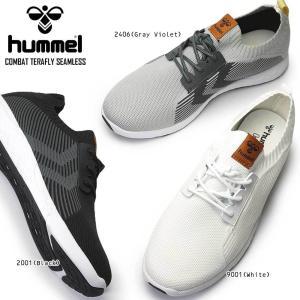 ヒュンメル スニーカー HM208813 コンバット テラフライ シームレス ランニング スポーツ ...