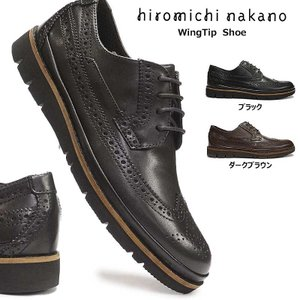 ヒロミチナカノ by リーガル 靴 188H ウィングチップ カジュアルシューズ ビジネス メンズ 本革 軽量|myskip-sp