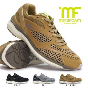 メディフォーム by アキレスソルボ 靴 MF104 ランニングシューズ メッシュ メンズ レディース スニーカー myskip-sp