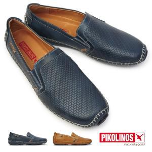ピコリノス 靴 メンズ 09Z-3178 スリップオン PK-239 ヘレス 本革 ドライビングシューズ レザー|myskip-sp