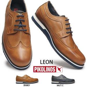 ピコリノス 靴 メンズ カジュアルシューズ M0K-4208 ウィングチップ PK322 ドレスカジュアル ビジネス|myskip-sp