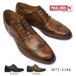 ピコリノス 靴 メンズ M7J-4186 ウイングチップ PK-337 本革 ビジネスシューズ|myskip-sp