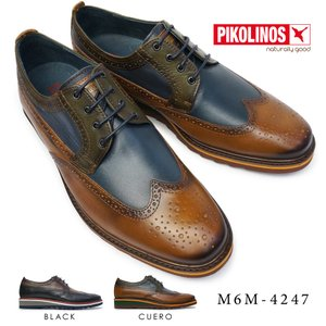 ピコリノス 靴 メンズ M6M-4247 ウイングチップ PK-347 トゥルーズ 本革 ビジネスシューズ|myskip-sp