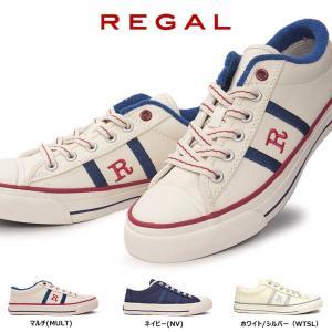 リーガル復刻盤「R」マークスニーカーのレディースモデルです。スマートでトラディショナルな印象のバルカ...