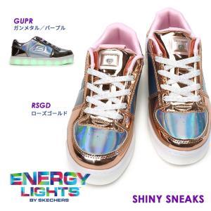 スケッチャーズ 光る靴 10947L エナジーライツ Shiny Sneaks 子供 スニーカー ガールズ myskip-sp