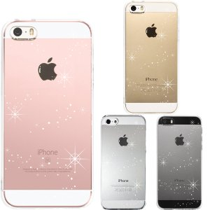 iPhone SE iPhone5s iPhone5 アイフォン クリアケース 保護フィルム付 天の...