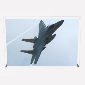 CuVery アクリル プレート 写真 航空自衛隊 F-15J 「蒼穹の神鷲」 A4サイズ mysma