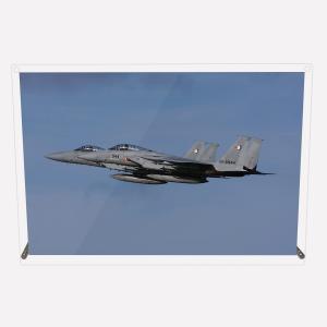 CuVery アクリル プレート 写真 航空自衛隊 那覇基地所属 第204飛行隊 F-15J 2機編隊 A4サイズ mysma