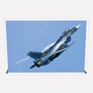 CuVery アクリル プレート 写真 航空自衛隊 F-2A A4サイズ mysma