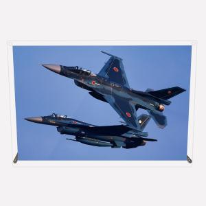 CuVery アクリル プレート 写真 航空自衛隊 第6飛行隊 F-2A 2機編隊 A4サイズ mysma