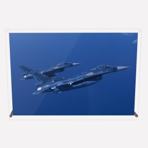 CuVery アクリル プレート 写真 航空自衛隊 F-2A 対艦装備 A4サイズ mysma
