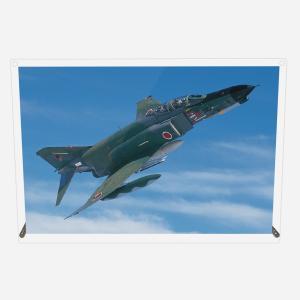 CuVery アクリル プレート 写真 航空自衛隊 偵察機 RF-4E A4サイズ mysma