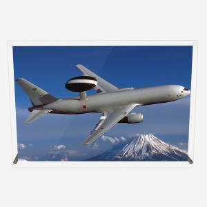 CuVery アクリル プレート 写真 航空自衛隊 早期警戒管制機 E-767 A3サイズ mysma