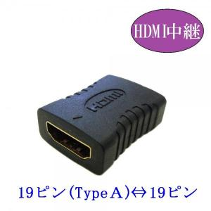 HDMI中継プラグ 19ピンHDMI⇔19ピン(メス)
