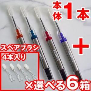 ソラデー3 本体 子供用 C(ふつう) & スペアブラシ 専用 本体(1本)+スペアブラシ(4本入り×選べる6パック)