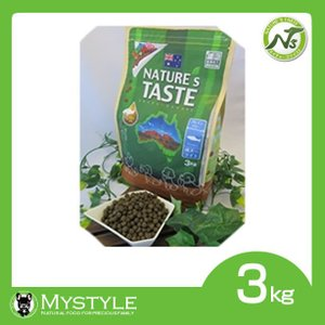 NATURE's TASTE ネイチャーズテイスト フィッシュ 成犬期 アダルト 3kg グレインフリー