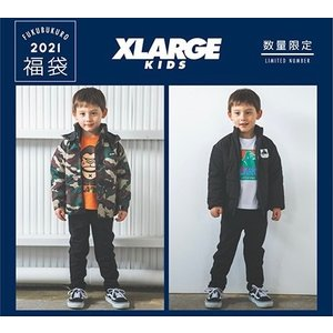 【XLARGE KIDS 2021福袋 先行予約】福袋特別送料含む|mystylist