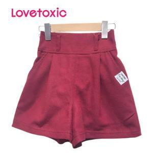 [Sale]50%FF Lovetoxic ラブトキシック ベルト付きフレアキュロット(エンジ74)8303149 mystylist