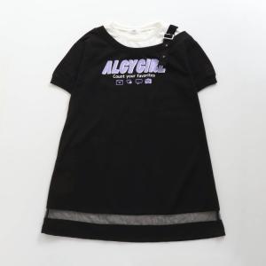 ALGY アルジー ワンショルドッキングワンピ (ブラック) G217041|mystylist
