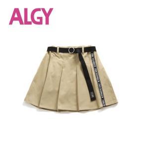 [Sale]ALGY ベルト付きプリーツスカパン(ベージュ)G418930|mystylist