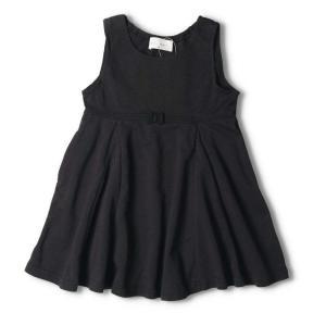 ウエストリボンジャンパースカート(ブラック)(ネイビー)N24306|mystylist