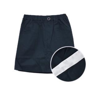 [sale]【RICO SUCRE】サイドライン台形スカート(ベージュ・ネイビー・カーキ) RCSP203956 mystylist