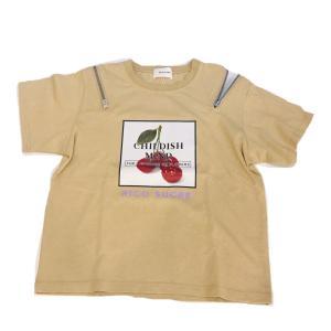 【RICO SUCRE】50%OFF 肩ファスナー転写Tシャツ(ベージュ)  RCTS202957|mystylist