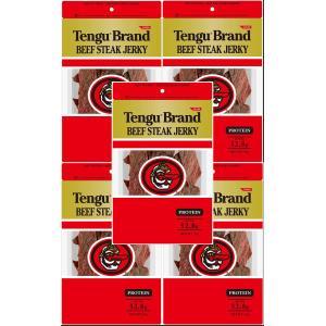 テング ビーフステーキジャーキー レギュラー 500g(100g×5個)