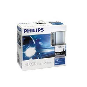 フィリップス(PHILIPS) 純正交換HIDバルブ D2R 6000K(2個セット) フラッシュホワイト