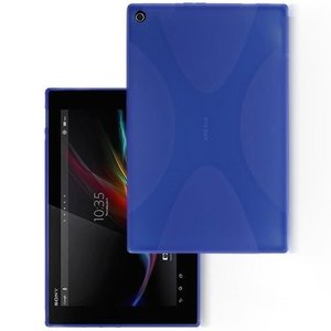 Xperia Z4 Tablet TPU グリップカバーケース 薄型軽量   docomo SO-05G  au SOT31  SONY SGP712JP Wi-Fiモデル 10.1 インチ タブレット 対応  伸縮ソフト素 mywaysmart