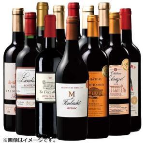 ワインセット ボルドー金賞 赤ワインセット12本お楽しみ wine set 送料無料|mywine