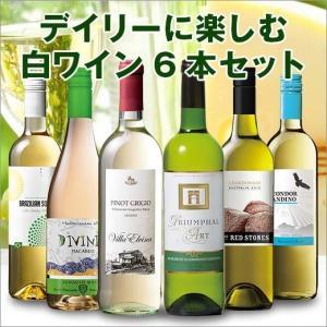 ワイン 第40弾 デイリーに楽しむ白ワイン6本セット|mywine