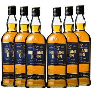 ハイランド・クィーン ブレンデッド 12年 6本セット ウイスキー ウィスキー whysky 送料無...