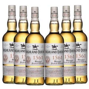 ハイランド・クィーン1561 ブレンデッド 6本セット ウイスキー ウィスキー whysky 送料無...