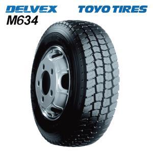 サマータイヤ TOYO TIRES DELVEX M634 205/70R17.5 115/113L バン・小型トラック用 mzh