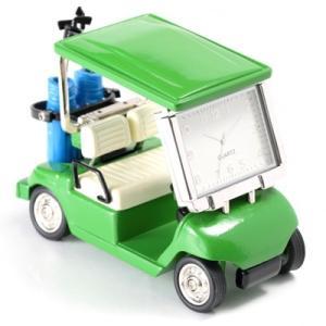 MC-C3570-GR ミニチュアクロック 置時計 ゴルフカート