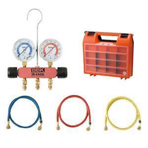 BBK (文化貿易工業) R-410A/R-32 ピンクレディマニホールドキット(90cmチャージングホース仕様) 410-PMK|n-denservice