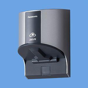 パナ スマートデザイン  [EV・PHEV充電用]屋外コンセント 200V用 WK4322S ホワイトシルバー n-denservice